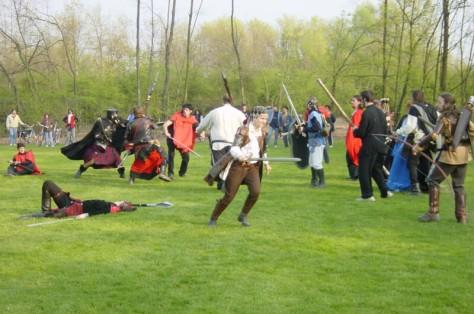 Foto di un evento GRVItalia (io sono l'arciere a destra)